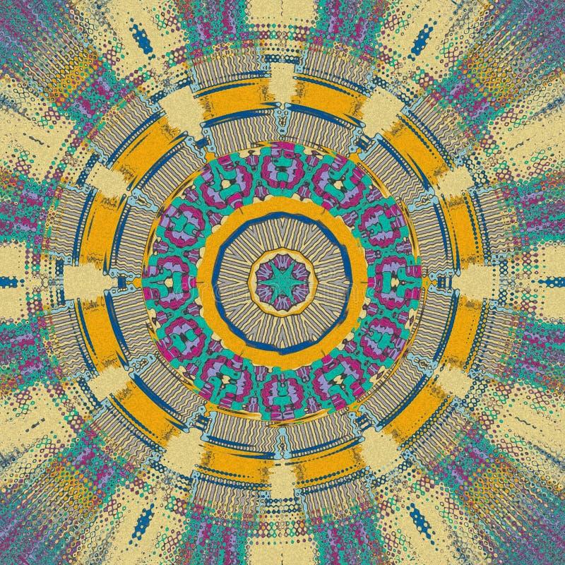 De samenvatting trekt met lichte kleuren royalty-vrije illustratie