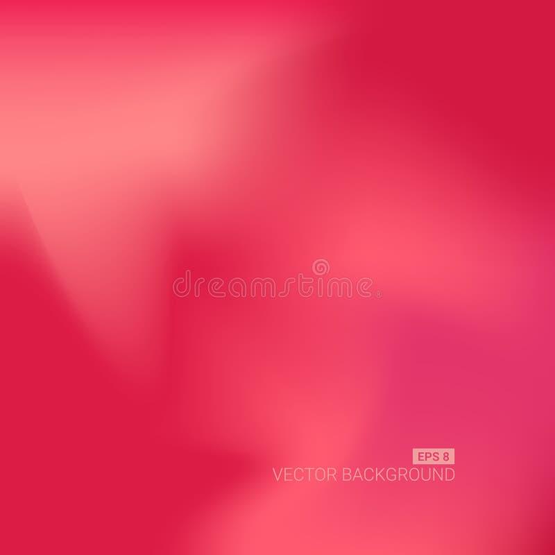 De samenvatting vage achtergrond van het gradiëntnetwerk Kleurrijk vlot bannermalplaatje royalty-vrije illustratie