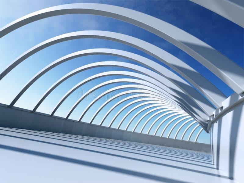 De Samenvatting van de architectuur stock illustratie