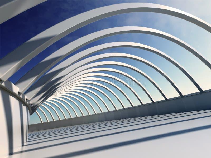 De Samenvatting van de architectuur vector illustratie