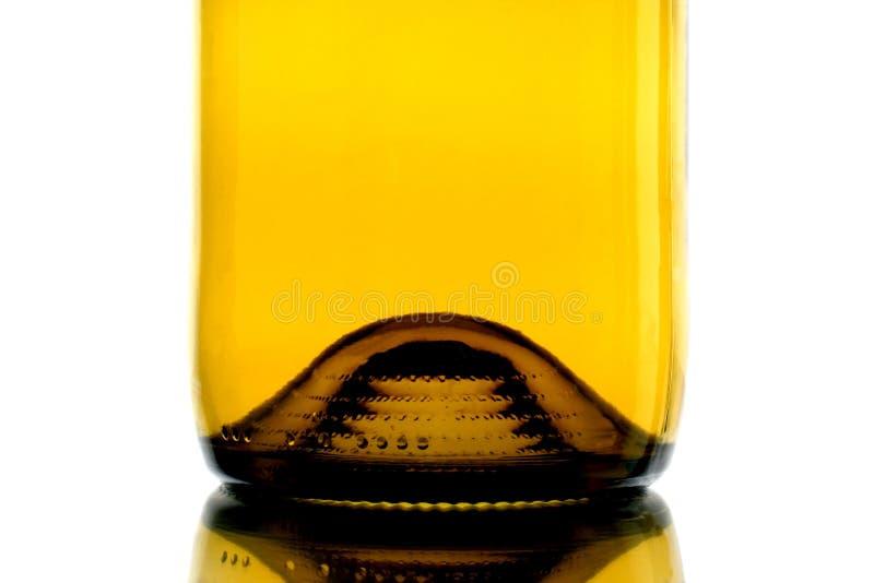 De Samenvatting van de Basis van de Fles van de wijn stock foto