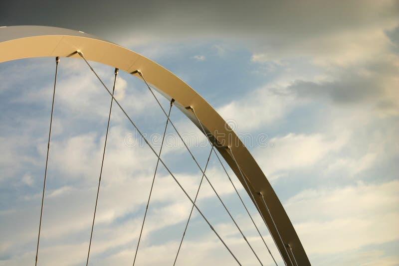 De samenvatting van de brug stock foto