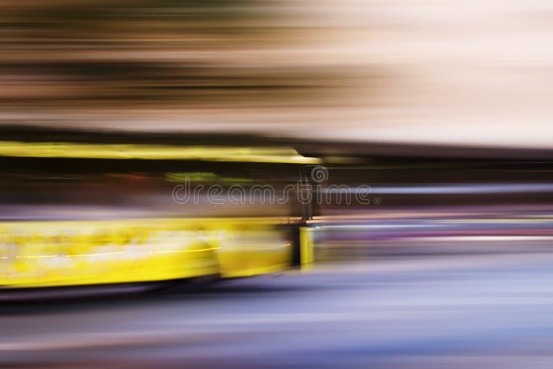 De Samenvatting van de Bus van de snelheid royalty-vrije stock afbeelding