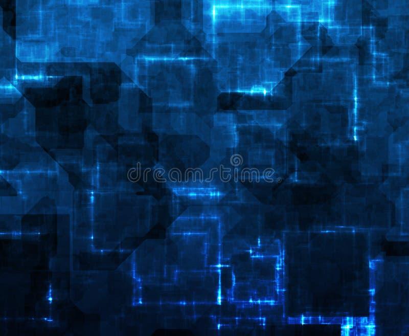 De Samenvatting van de Gegevens van de Weg van de informatie stock illustratie
