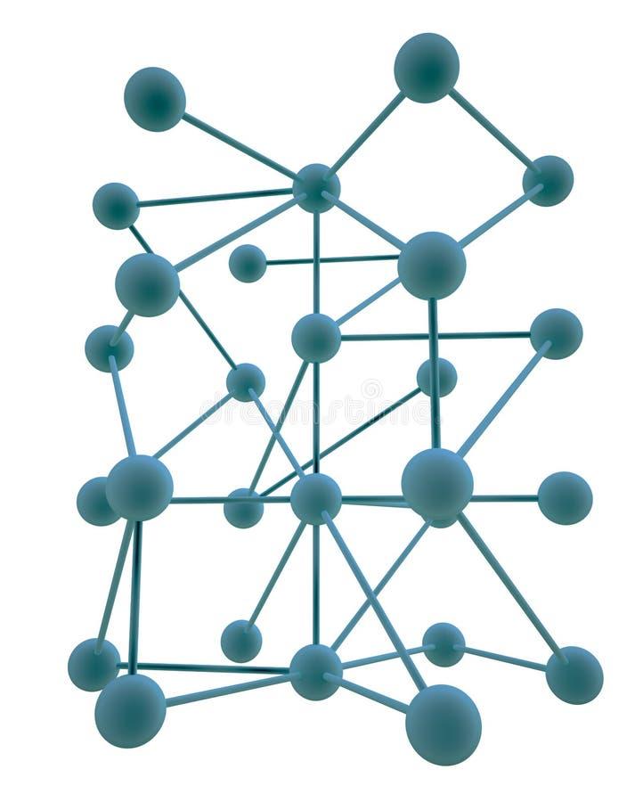De samenvatting van de hiërarchie stock illustratie