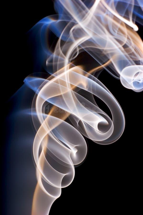 De Samenvatting van de rook royalty-vrije stock foto