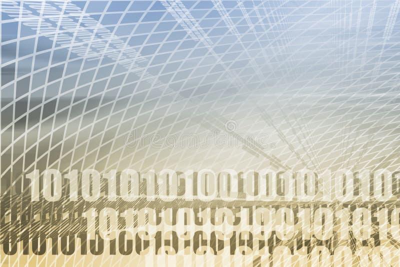 De Samenvatting van de technologie royalty-vrije illustratie