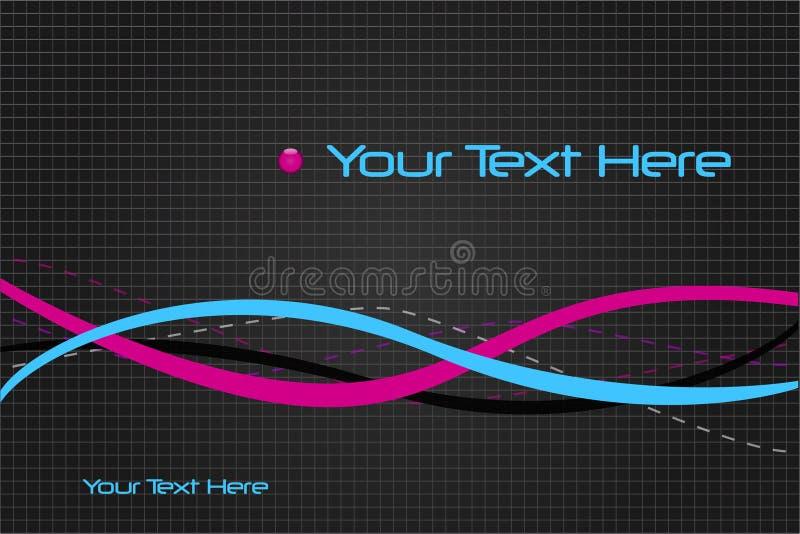De Samenvatting van de Tekst van de steekproef vector illustratie