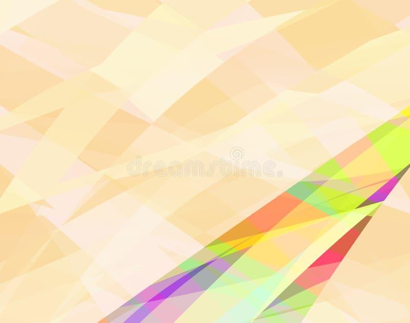 De samenvatting van Fawn vector illustratie