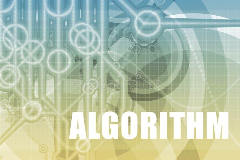 De Samenvatting van het algoritme royalty-vrije illustratie