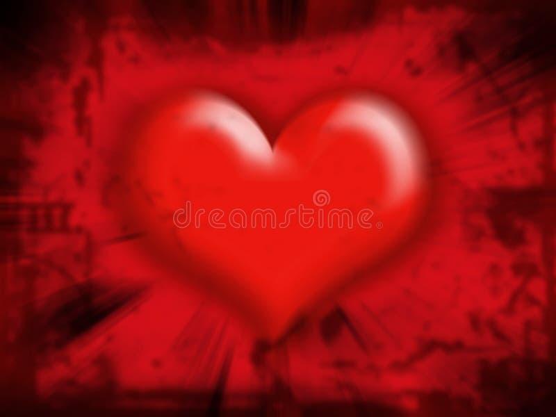 De samenvatting van het hart royalty-vrije illustratie