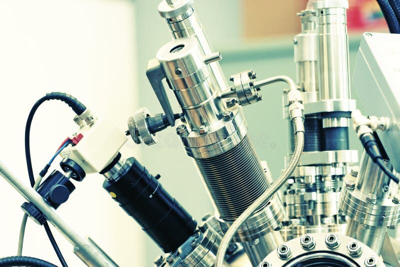 De samenvatting van het laboratorium royalty-vrije stock afbeeldingen