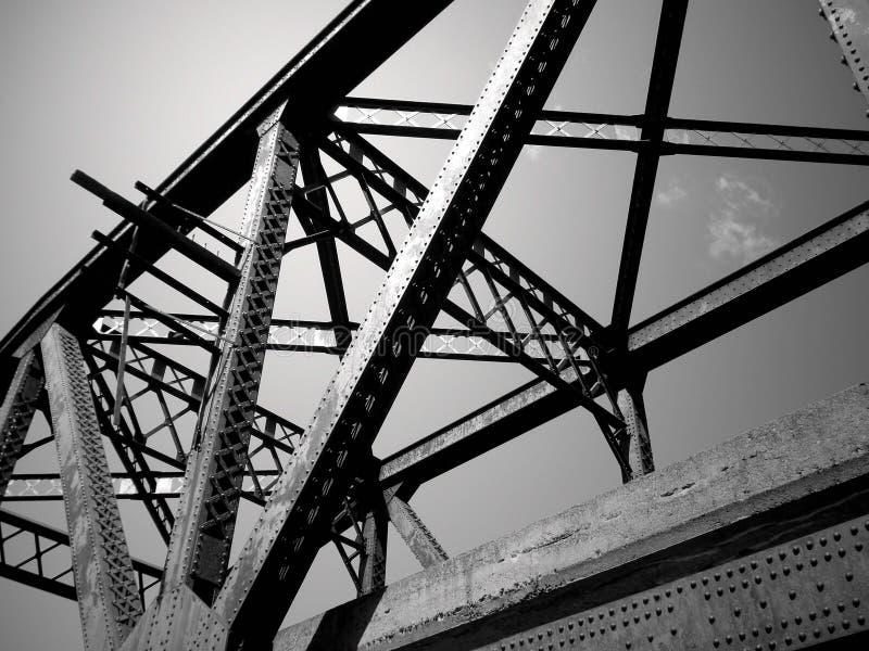 De Samenvatting van het staal royalty-vrije stock afbeeldingen