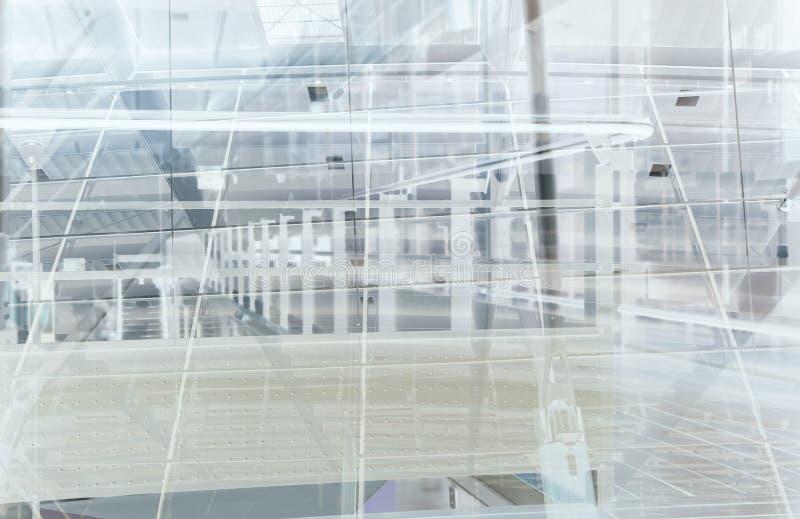 De samenvatting van het station vector illustratie
