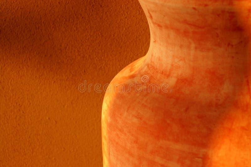 De Samenvatting van het terracotta royalty-vrije stock foto