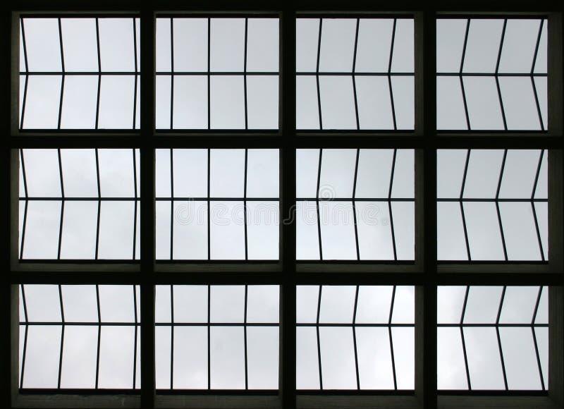 De samenvatting van het venster royalty-vrije illustratie