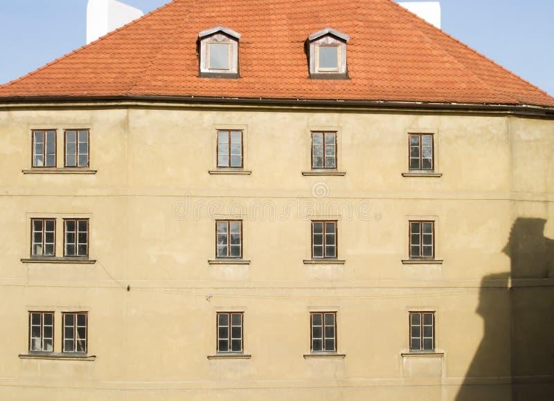 De Samenvatting van Praag royalty-vrije stock afbeeldingen