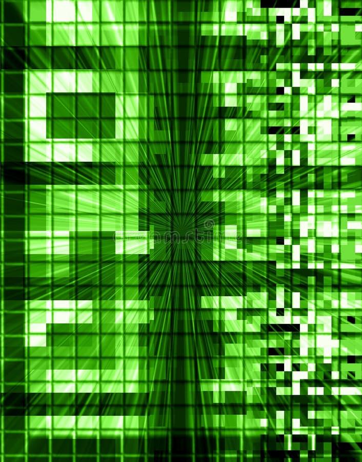 De Samenvatting van technologie- Aanslutingen royalty-vrije illustratie