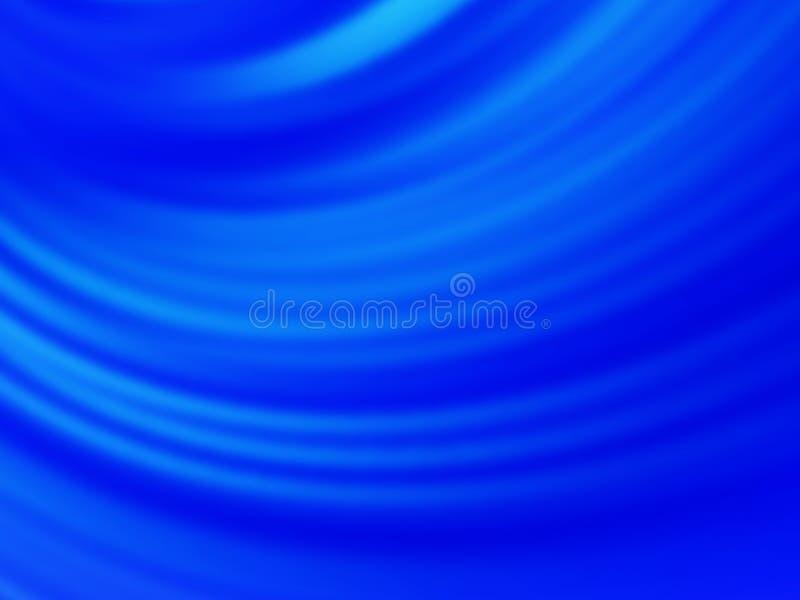 De samenvatting vertroebelde blauwe achtergrond vector illustratie