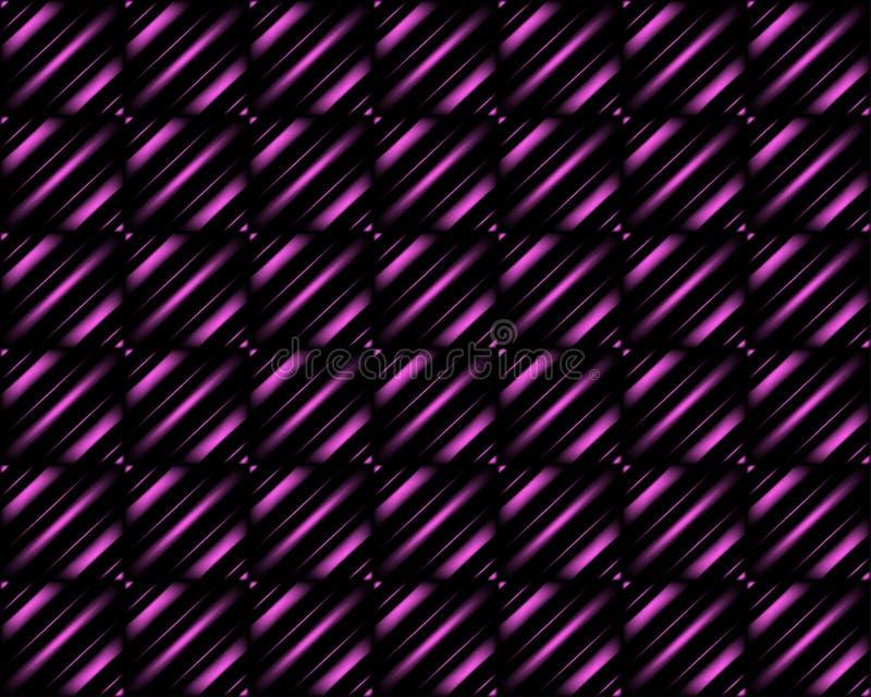De samenvatting vertroebelde roze achtergrond met neon prettige kleuren, vlotte gradiënttextuur, gloeiend websitepatroon, bannerk vector illustratie