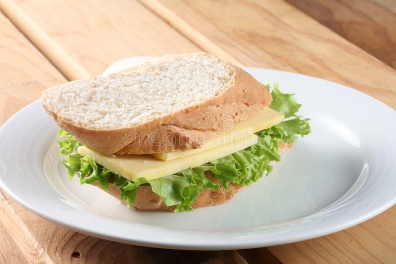 De sandwich van Baguette royalty-vrije stock afbeeldingen