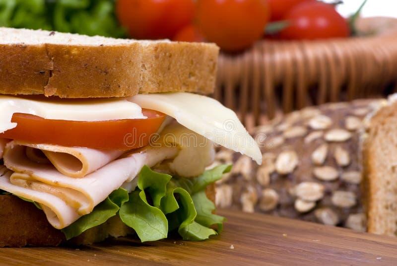 De Sandwich van de delicatessenwinkel royalty-vrije stock fotografie