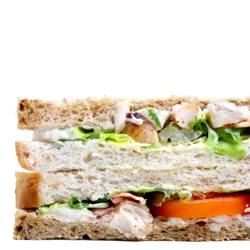 De sandwich van de kip royalty-vrije stock foto