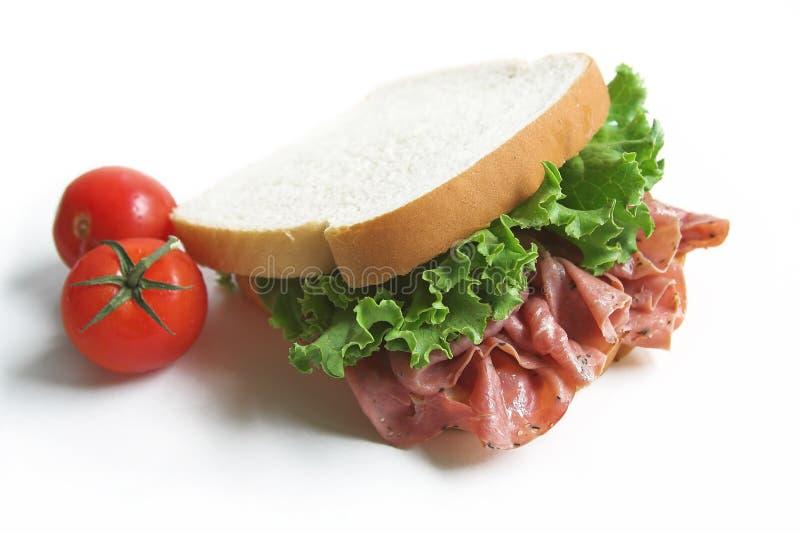 De sandwich van de lunch stock fotografie