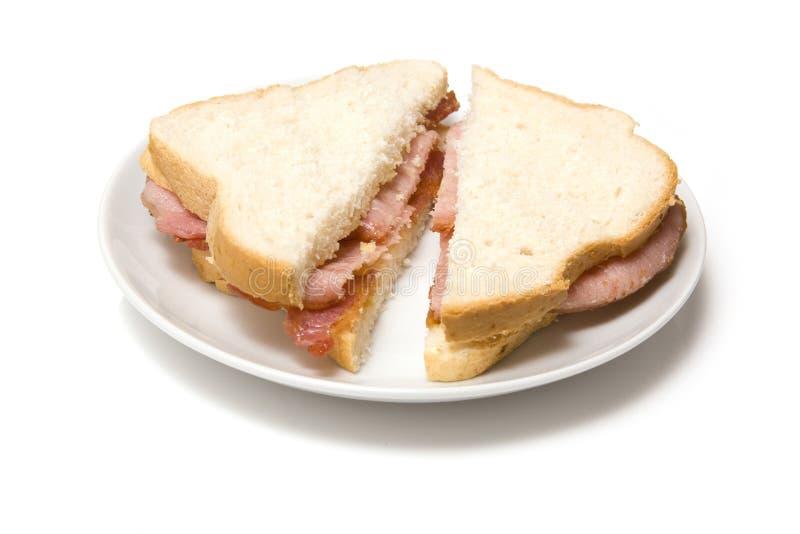 De sandwich van het bacon royalty-vrije stock foto