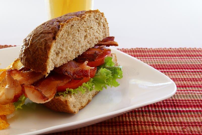 De Sandwich van het bacon royalty-vrije stock fotografie