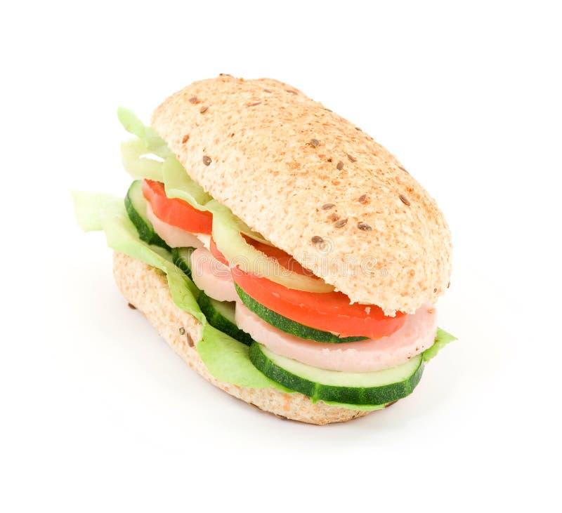 De sandwich van het dieet royalty-vrije stock foto