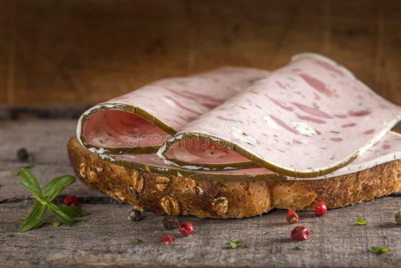 De sandwich van het specialiteitvlees royalty-vrije stock fotografie