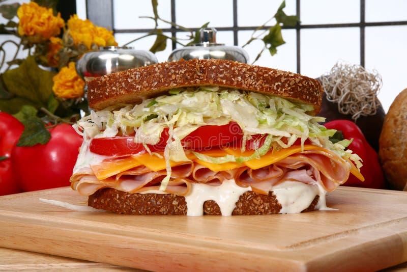 De Sandwich van Turkije stock fotografie