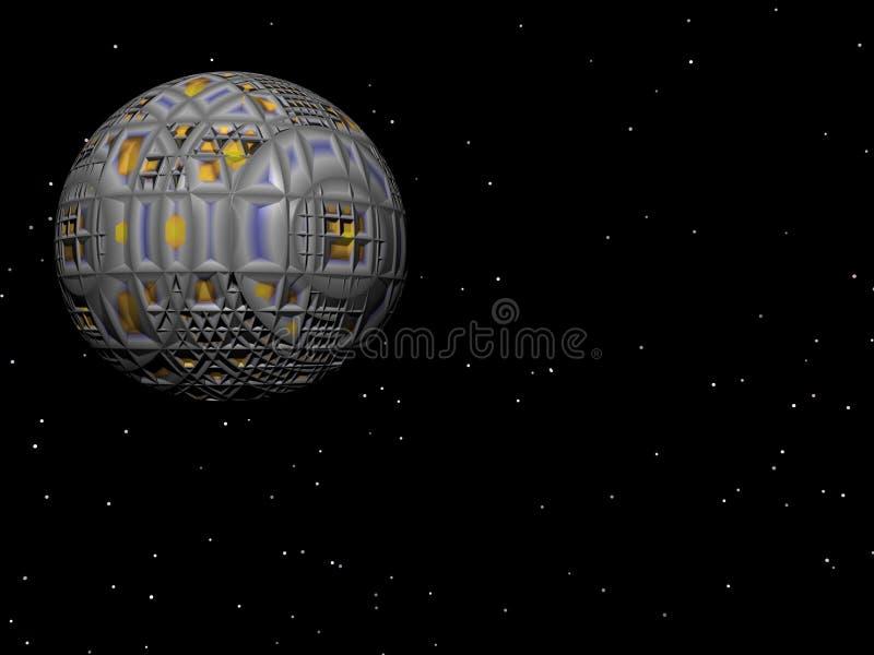 De Satelliet van de ster royalty-vrije illustratie