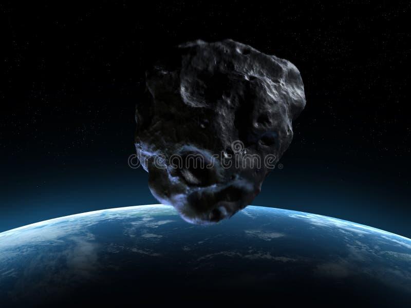 De scène van Armageddon vector illustratie