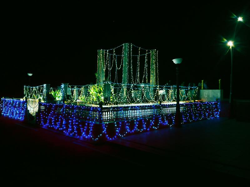 De scène van de nacht royalty-vrije stock foto