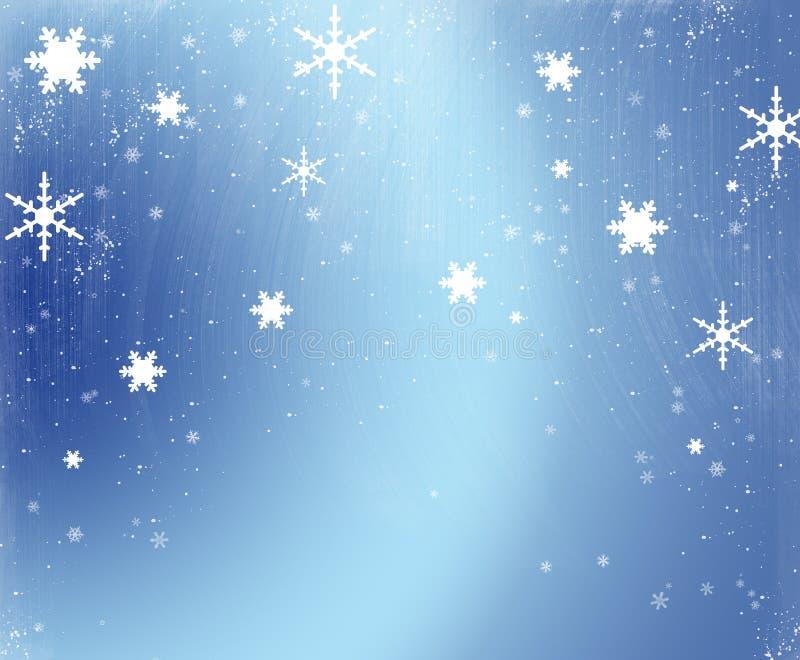De Scène van de sneeuw stock foto's