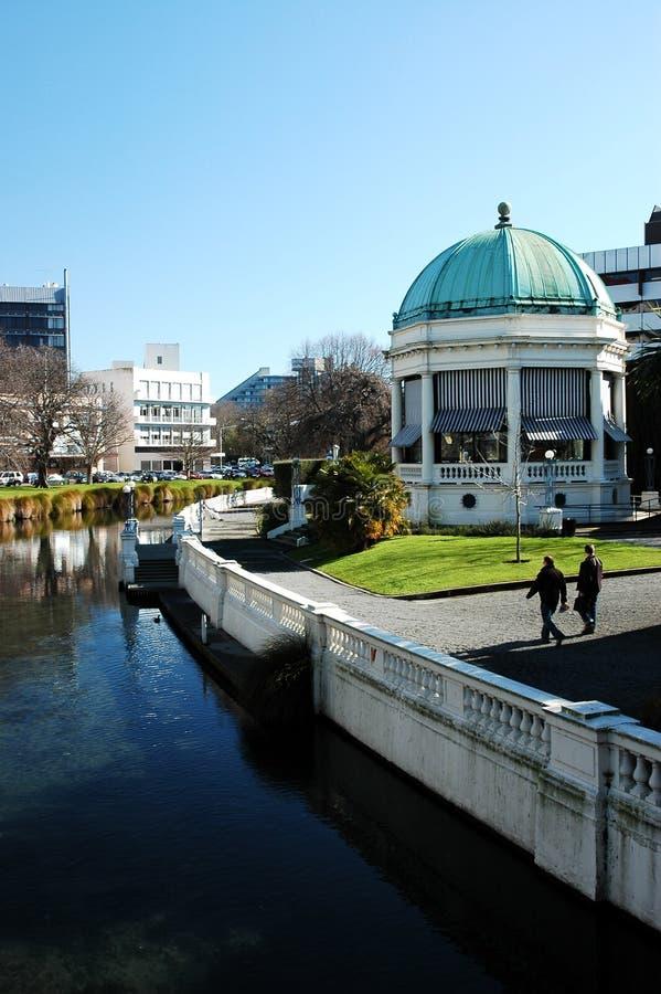 De Scène van de Stad van Christchurch royalty-vrije stock afbeelding