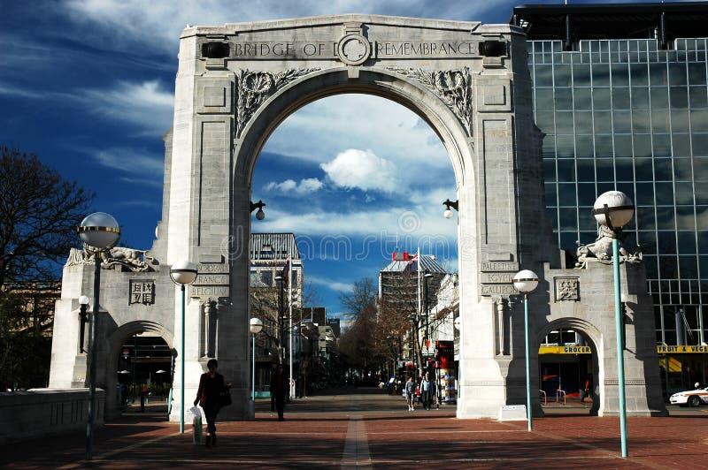 De Scène van de Stad van Christchurch royalty-vrije stock foto