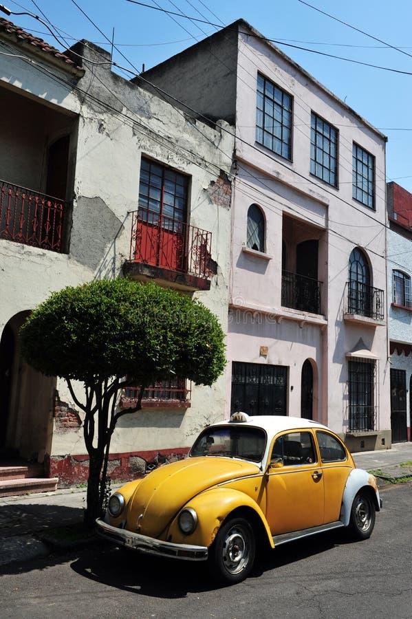 De Scène van de Straat van Mexico-City stock foto's