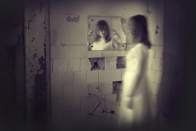 De scène van de verschrikkingsfilm royalty-vrije stock fotografie