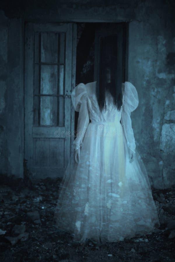 De scène van de verschrikkingsfilm royalty-vrije stock afbeelding