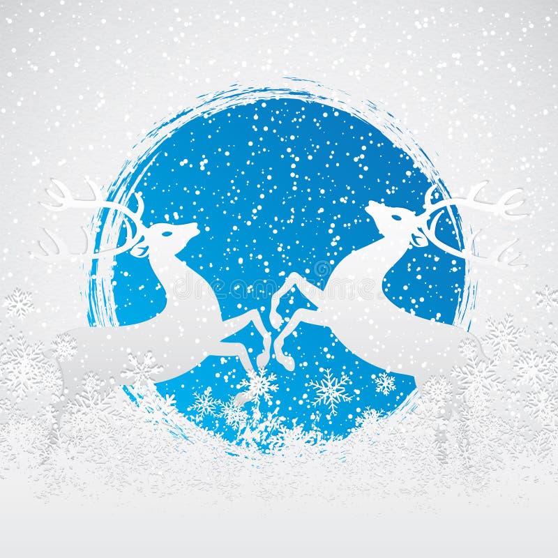 De scène van de winter stock illustratie