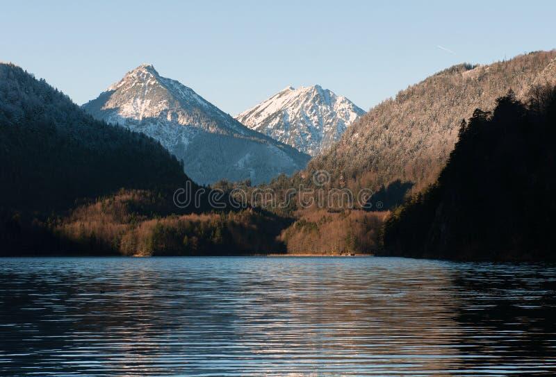 De scène van de winter, Duitsland stock fotografie