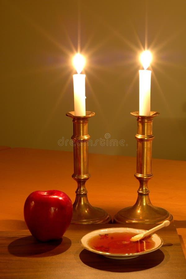 De Scène van Hashanah van Rosh royalty-vrije stock afbeelding