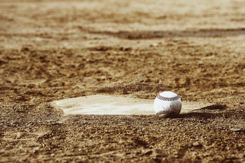 De scène van het honkbal stock fotografie