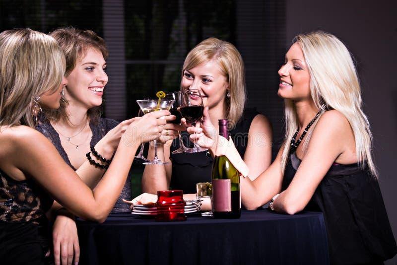 De scène van het restaurant stock afbeelding