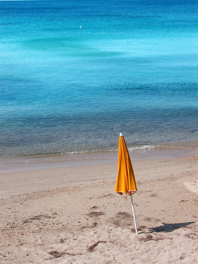 De scène van het strand stock foto's