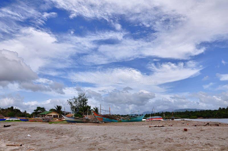 De Scène van het Strand van Filippijnen royalty-vrije stock foto