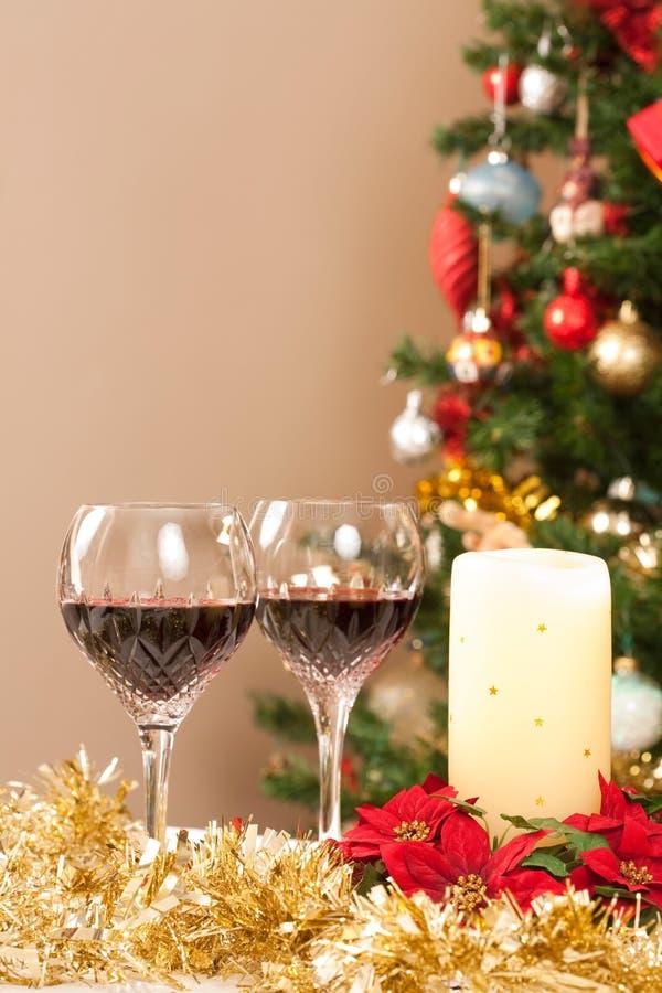 De scène van Kerstmis royalty-vrije stock foto